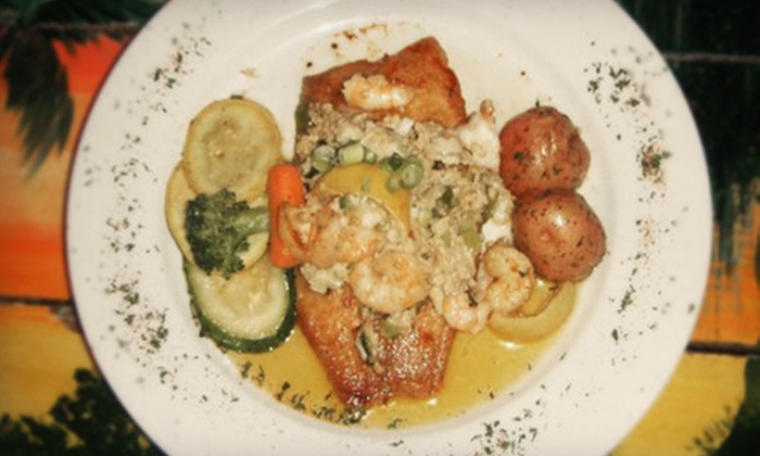 Sammy's Seafood Restaurant - East Bank,French Quarter,Vieux Carre: $25 for $50 Worth of Cajun and Creole Cuisine at Sammy's Seafood Restaurant