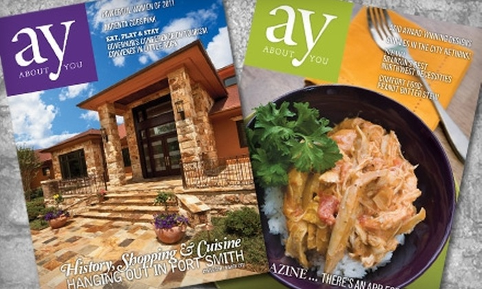 "AY... About You Magazine - Hot Springs: $14 for Two-Year Subscription to ""AY... About You Magazine"" ($28 Value)"