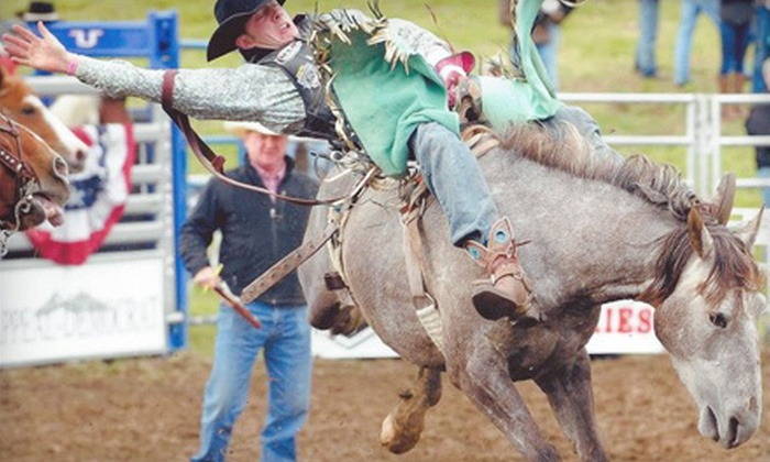 Marysville Stampede - Marysville: Marysville Stampede Rodeo Outing for an Adult, Child, or Family at Cotton Rosser Arena on May 26 or 27 (Up to 54% Off)