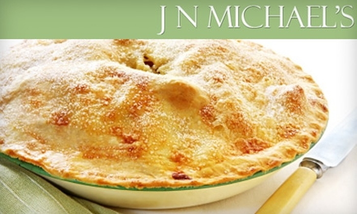 J N Michael's Restaurant - Matteson: $17 for Three Pies at J N Michael's Restaurant in Matteson (Up to $35.77 Value)