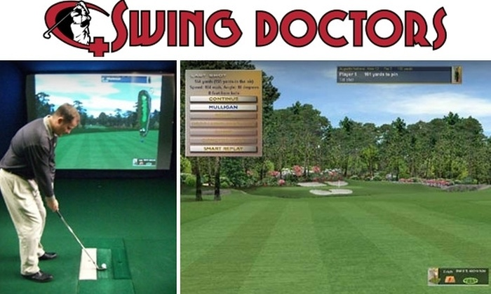 Swing Doctors - Totem Lake: $40 for a Golf Swing Analysis and Follow-Up Lesson from Swing Doctors ($100 Value)