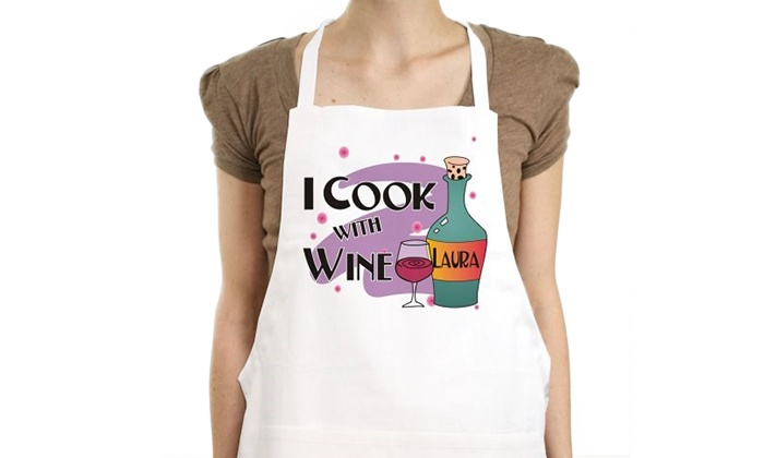 GiftsForYouNow.com: $12.99 for a Personalized Apron from a GiftsForYouNow ($24.98 Value)
