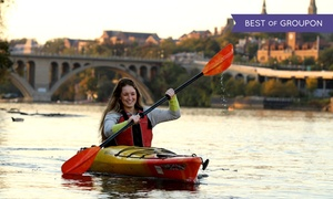 Boating in DC: Unlimited Kayak & Paddleboard Rentals for First-Time Season Pass-Holders at Boating in DC (35% Off).