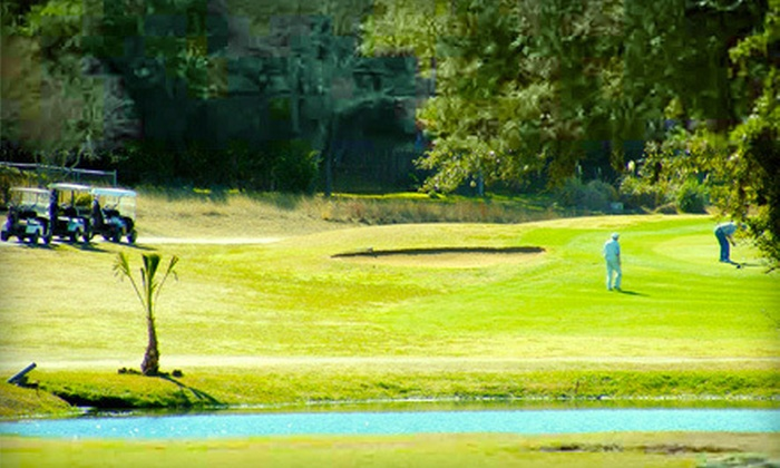 Canyon Lake Golf Club - Canyon Lake: Golf Outing with Cart Rental and Range Balls for Two or Four at Canyon Lake Golf Club (Up to 58% Off)