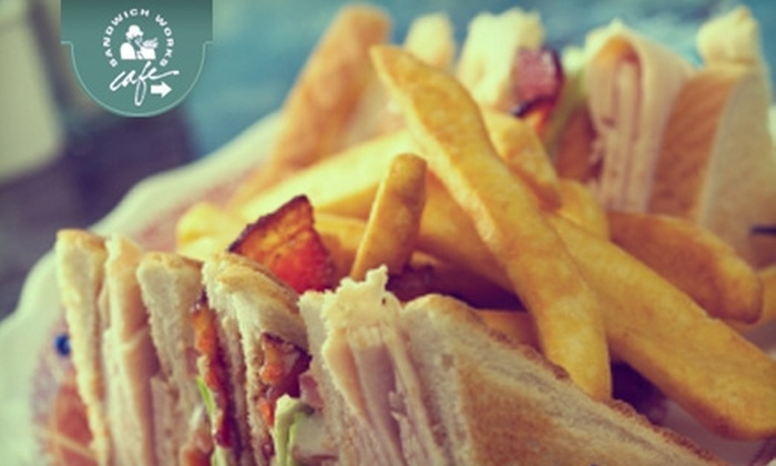 Sandwich Works Cafe - East Avenue: $5 for $10 Worth of Fresh-Made Sandwiches and More at Sandwich Works Cafe