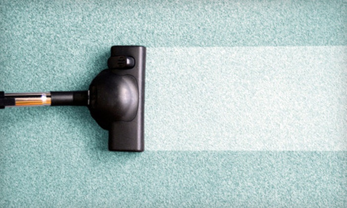 The Clean Machine - Multiple Locations: Carpet Cleaning for Three or Four Rooms or Hardwood-Floor Cleaning from The Clean Machine (Up to 65% Off)