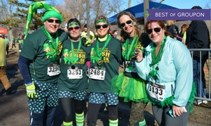 Everybody's Irish 5K St. Paddy's Day Run: Everybody's Irish 5K St. Paddy's Day Run for One, Two, or Four on Saturday, March 12 (Up to 50% Off)