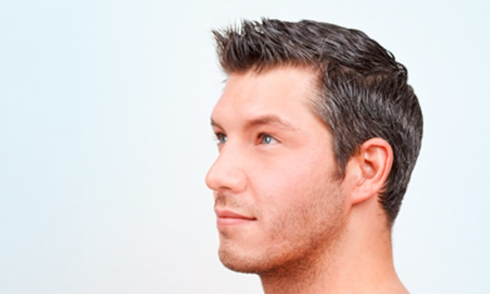 Bella Salon - Old West Austin: One or Two Men's Haircuts with Custom Scalp Treatments from DeVille at Bella Salon