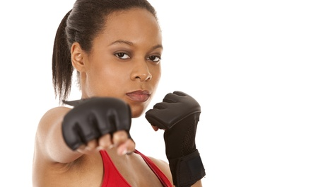 Four Weeks of Unlimited Boxing or Kickboxing Classes at G.I.R.L.S. Gym (54% Off)