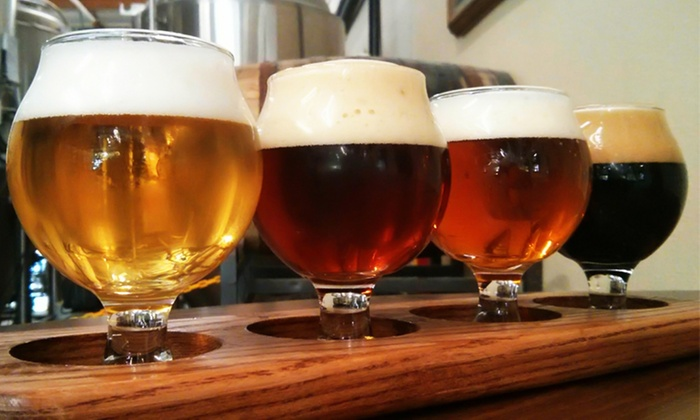 Eight Bridges Brewing - Livermore: Beer Tasting for Two or Four at Eight Bridges Brewing (36% Off)
