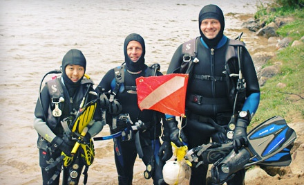 Open-Water-Scuba-Diver Certification Local Package (a $375 value) - ZZ Underwater World in Lansing