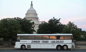 Zohery Tours: Three- to Four-Hour Tour of Washington D.C. for One, Two, or Four From Zohery Tours (Up to 52% Off)