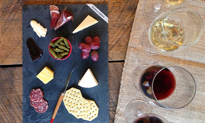 Heirloom Kitchen - Old Bridge Township: Wine-and-Cheese-Pairing Class for 2, 4, or 6 with Take-Home Cheese Board at Heirloom Kitchen (Up to 50% Off)