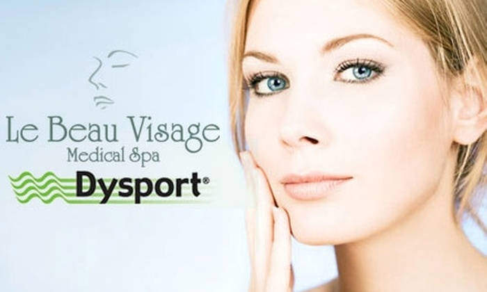 Le Beau Visage - Frisco Bridges North: $199 for a Single-Area Dysport Injection and Chemical-Peel Package from Le Beau Visage Medical Spa ($375 Value)