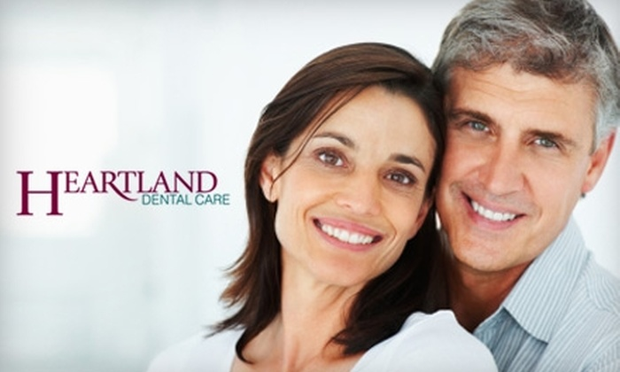 Heartland Dental Care - Multiple Locations: $45 for Dental Exam, Cleaning, and X-ray from Heartland Dental Care Family of Practices (Up to a $313 Value)
