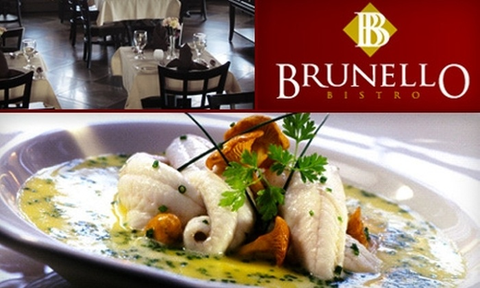 Brunello Bistro - Ten Hills: $25 for $50 Worth of Italian-Mediterranean Fare at Brunello Bistro in Somerville