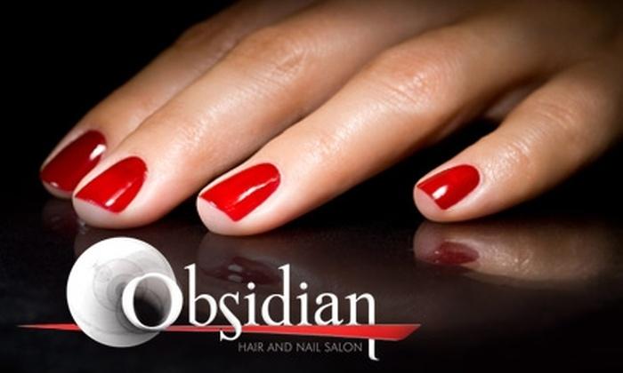 Obsidian Hair and Nail Salon - Limberlost: $20 For a Shellac Manicure at Obsidian Hair and Nail Salon ($40 Value)