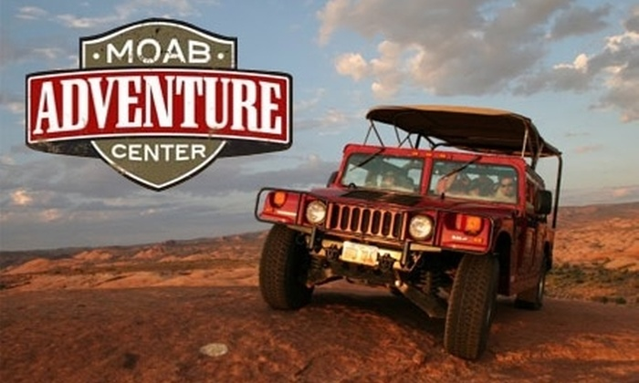 Moab Adventure Center - Moab: $49 for a Sunset Hummer Safari Tour from Moab Adventure Center ($88 Value)