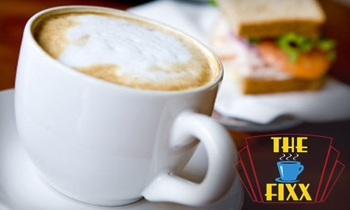 The Fixx Coffeehouse - Downtown: $5 for $10 Worth of Coffee and Baked Goods at The Fixx Coffeehouse