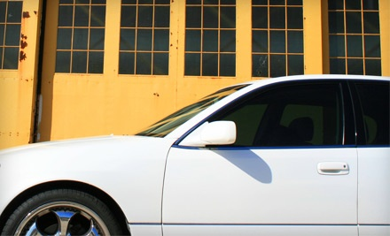 Johnson Silhouette Tinting Treatment for 5 Car Windows (a $280 value) - Mr. Tint in Norco