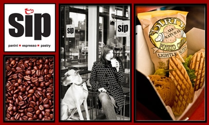 Sip Coffee & Espresso Bar - Downtown: $5 for $10 Worth of Beverages and Bites at Sip