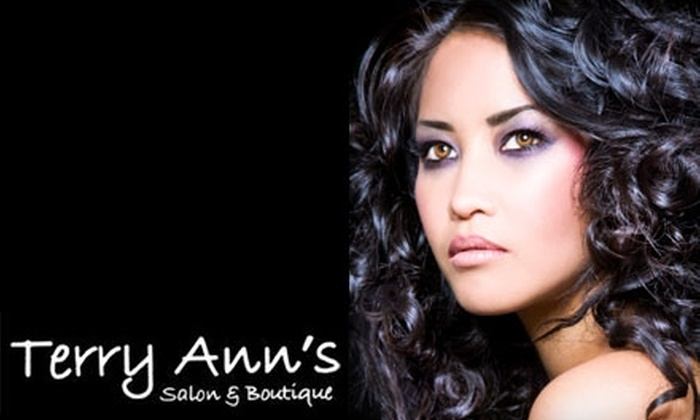Terry Ann's Salon and Boutique - Greenville: $50 for $100 Worth of Salon Services at Terry Ann's Salon and Boutique