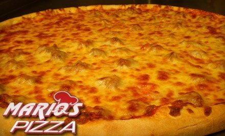 $6 Groupon to Mario's Pizza - Mario's Pizza in Northbrook