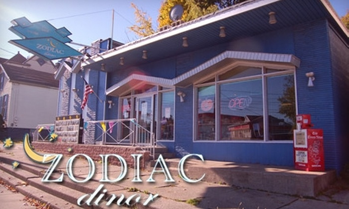 Zodiac Dinor - Erie: $5 for $10 Worth of Hearty Eats at Zodiac Dinor