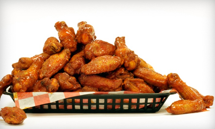 Wild Over Wings - Garland: Chicken-Wing Meals at Wild Over Wings in Garland. Three Options Available.