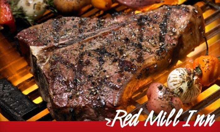 Red Mill Inn - Amherst: $15 for $30 Worth of American Fare and Drinks at Red Mill Inn in Williamsville