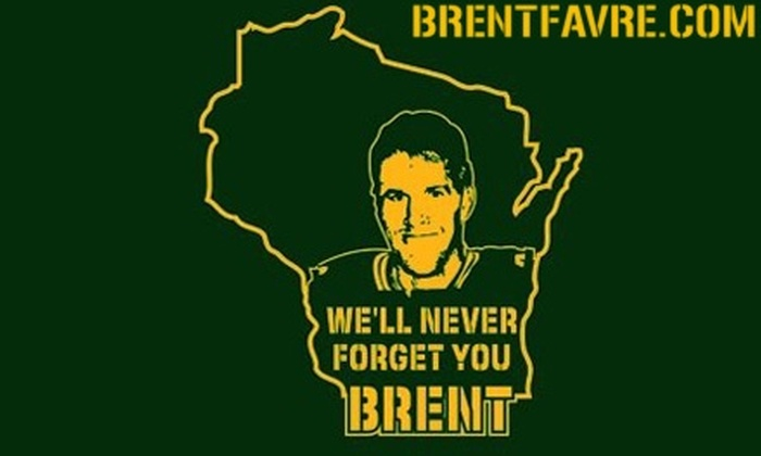 BrentFavre.com: $8 for any Basic T-shirt from BrentFavre.com ($21.90 value)
