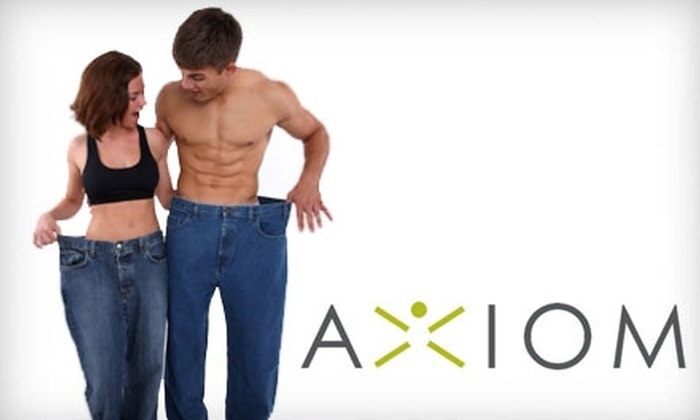 Axiom Health & Fitness - Brookfield: $60 for a 30-Day Boot Camp and Three Post-Workout Smoothies at Axiom Health & Fitness in Brookfield ($299 Value)