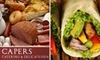 Capers Catering & Delicatessen - Salisbury: $5 for $10 Worth of Italian Deli Fare at Capers Catering & Delicatessen