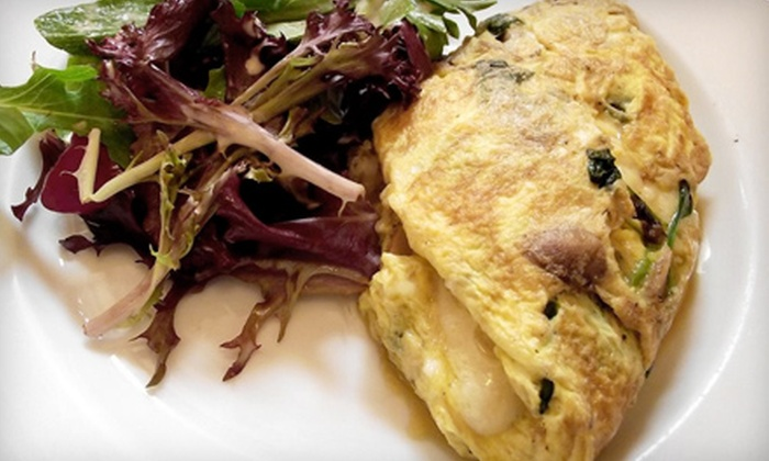 Cafe Massilia - Monrovia: Southern French Cuisine for Dinner, Breakfast, or Lunch at Cafe Massilia in Monrovia (Half Off)