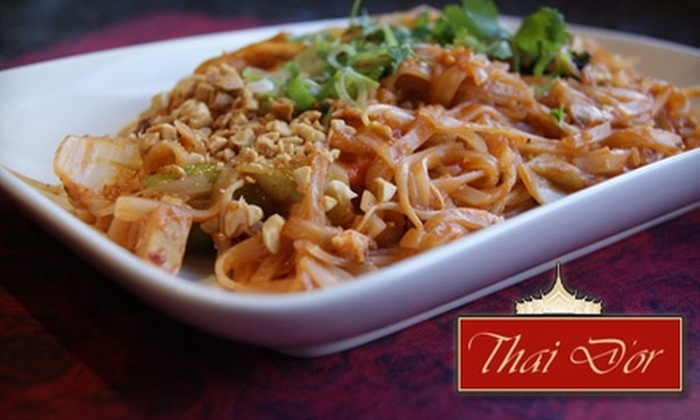 Thai D'or Restaurant - West Clearbrook: $10 for $20 Worth of Authentic Thai Cuisine and Drinks at Thai D'or Restaurant