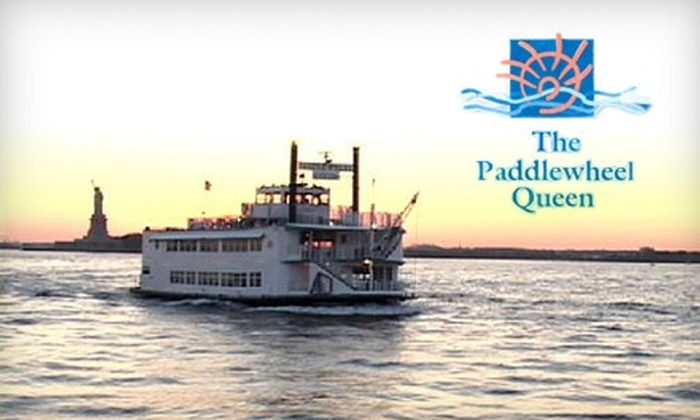 $17 for a Sunset Party Cruise or Late-Night Dance Cruise on The Paddlewheel Queen ($35 Value). Choose from 10 Options.