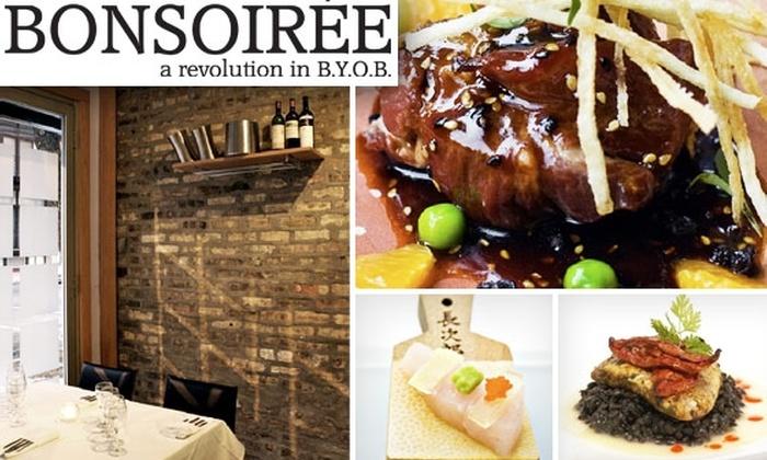 Bonsoiree Restaurant - Bucktown: $35 for $75 Worth of Cuisine at Bonsoirée