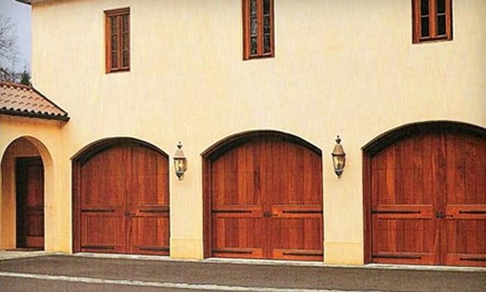 New England Overhead Door - Davis Square: $300 for 100 Square Feet of Garage Flooring from New England Overhead Door