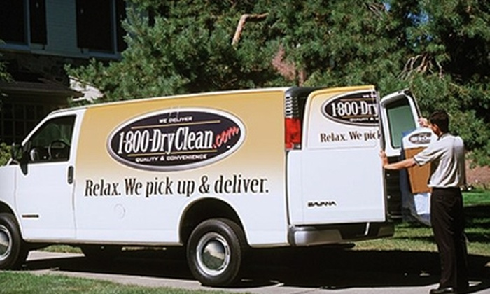 1-800-DryClean - Town Center: $25 for $50 Worth of Pick-Up and Delivery Dry Clean Service from 1-800-DryClean of the Woodlands.