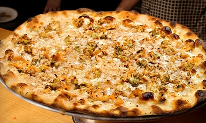 Frank Pepe Pizzeria Napoletana - Colonial Heights: $10 for $20 Worth of Hand-Tossed Pizza, Salad, and Drinks at Frank Pepe Pizzeria Napoletana