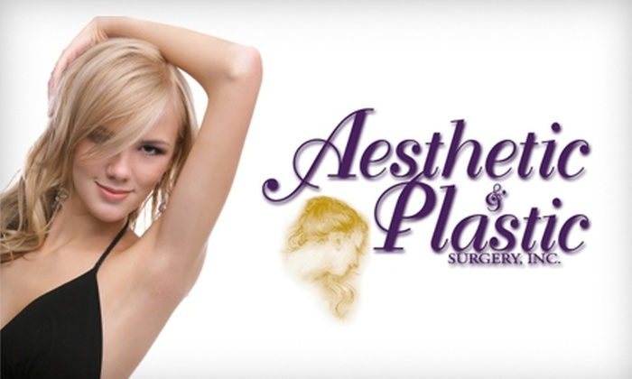 Aesthetic & Plastic Surgery - Polaris: $99 for Four Laser Hair-Removal Treatments at Aesthetic & Plastic Surgery (Up to $600 Value)