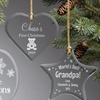 Up to 61% Off Personalized Glass Ornaments