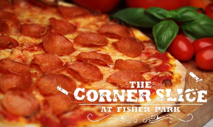 Corner Slice - Fisher Park: $10 for $20 Worth of Pizza, Drinks, and More at Corner Slice