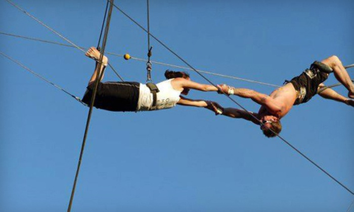 Aerial Trapeze Academy - Asheville: Two-Hour Trapeze Class for One or Two at Aerial Trapeze Academy (Half Off)