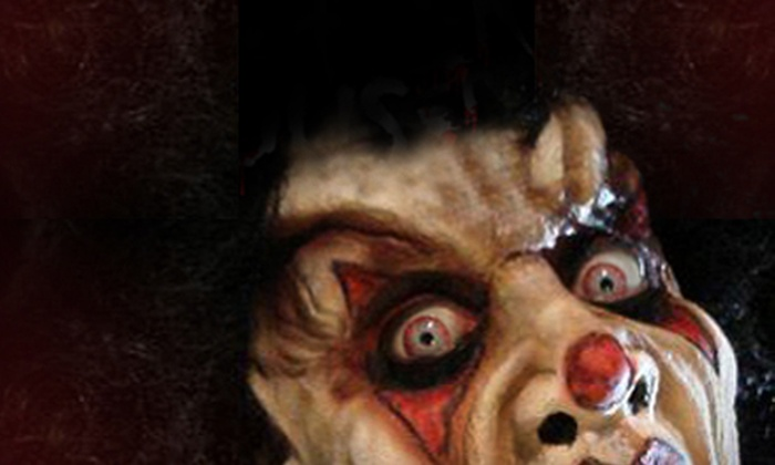 The Slaughterhouse - Flowing Well Neighborhood: VIP Haunted-House Outing or a General-Admission or VIP Season Pass to The Slaughterhouse