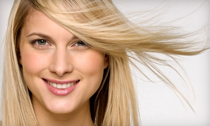 Essentials Day Spa and Salon - Claremont: $35 for a Design Cut and Deep-Conditioning Treatment at Essentials Day Spa and Salon in Claremont (Up to $90 Value)