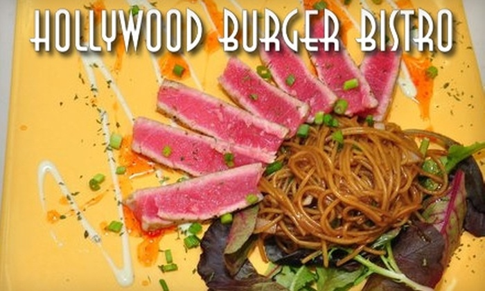 Hollywood Burger Bistro - Canton: $10 for $20 Worth of American Fare at Hollywood Burger Bistro
