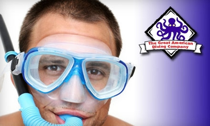 The Great American Diving Company - Saint Charles: $49 for a Snorkeling Lesson Plus a Mask and Snorkel at The Great American Diving Company ($179 Value)