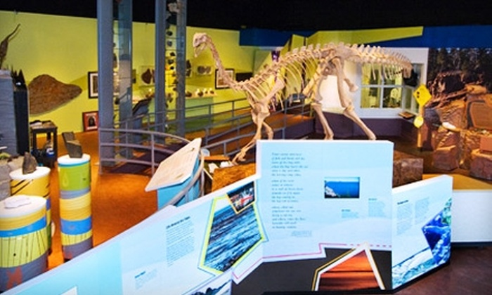 Fundy Geological Museum - Parrsboro: Admission for Two Adults or Family Pass to Fundy Geological Museum in Parrsboro