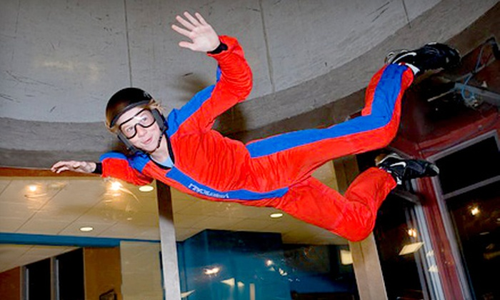 Paraclete XP SkyVenture - Raeford: $31 for Two One-Minute Indoor-Skydiving Flights at Paraclete XP SkyVenture in Raeford ($63 Value)